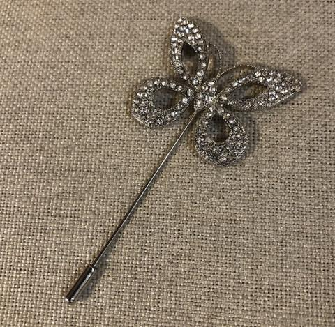 Sparkly Butterfly Scarf/coat pin