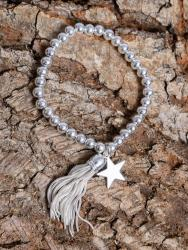 Bracelet with tassle and star